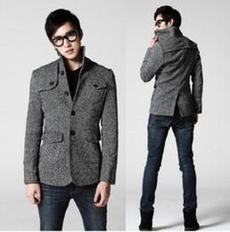 Discount Short Tweed Coat Men | 2017 Short Tweed Coat Men on Sale ...