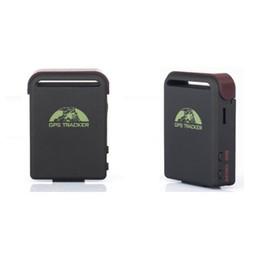 Gsm Gprs Gps Australia - TK102B Realtime Car mini GPS Tracker GSM GPRS GPS Navigation Vehicle Tracker Quad Band Vehicle Tracking Device With Memory Slot