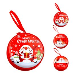 Short loop online shopping - Christmas Candy Storage Box Kids Candy Storage Boxes with Zipper and Hanging Loops for Headphone Coin Storage Gift Bag