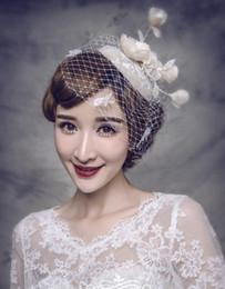 NettiNg hat weddiNg online shopping - New Coming Net Beautiful Romantic  Great Wedding Events Bridal Accessories ed3b3df47da