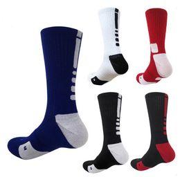EE. UU. Élite profesional calcetines de baloncesto Rodilla larga Atlético Deporte Calcetines Hombres Moda Compresión Térmico Calcetines de invierno ventas al por mayor