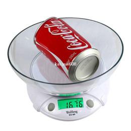 Mutfak / Laboratuvarlar Çok Beyaz Ücretsiz shippingwholesale Gıda Disk ile Yeni Dijital LCD Elektronik Ölçeği 7Kg / 1g