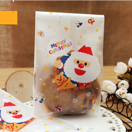 Pack Supplies Canada - Christmas Party Baking Biscuit Bag Self Adhesive Packing Cookies Dessert OPP Bag Party Baking Supplies Gift Wrap SD840