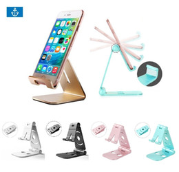 Wholesale kindles tablets online – design Hot Universal Aluminum Metal Mobile Phone Tablet Desk Holder Stand for iPhone X s Plus s Cellphone Kindle Ebook