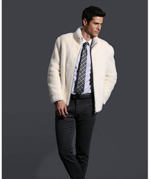 Discount White Mink Coat Men | 2017 White Mink Coat Men on Sale at ...
