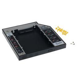 $enCountryForm.capitalKeyWord UK - Wholesale- Mecall SATA 2nd HDD HD Hard Driver Caddy for 12.7mm Universal CD Optical Bay