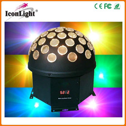 $enCountryForm.capitalKeyWord Canada - LED Color Changing RGB Crystal Magic Rotating Ball Effect Stage Light with MUSIC AUTO for Disco DJ, ballroom, KTV, bars,club