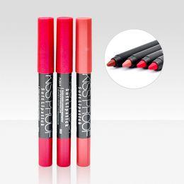 Kiss proof lipsticKs online shopping - DHL free M N Kiss proof Soft Lipsticks Long Lasting Menow Lipgloss Cosmetics