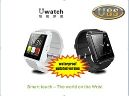 Smart Watch Android Sync Canada - Detachable U8S Waterproof Smart Watch Upgraded U8 Bluetooth Wrist Watch Phone Handsfree SYNC Calls for iPhone Samsung Android Smart Phones