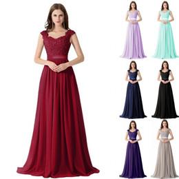f2cc4b4742 Real Image Sexy 2017 Vestidos para ocasiones especiales con cuentas de  pedrería Vestidos de dama de honor Sweetheart Cap Sleeves Party Prom  Vestidos para ...