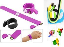 100% reale kapazität Silikon Armband Handgelenk Band 16 GB 16 GB 8 GB 4 GB USB 2.0 USB Stick Stick Stick U Festplatte