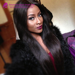 $enCountryForm.capitalKeyWord Canada - New Arrival Human Unprocessed Peruvian Human Hair Silky Straight Bleached Knots Silk Base 4*4 Full Lace Wigs With Baby Hair