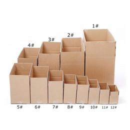 Cajas de embalaje de envío 3 capas Cajas de embalaje de transporte corrugado duro en blanco Reciclaje ambiental Caja por mayor - 0005Pack