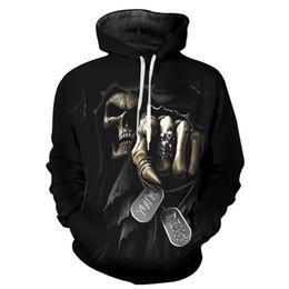 $enCountryForm.capitalKeyWord NZ - Wholesale- Fashion Hoodie Sweatshirts Men Womens Hoodies Long Sleeve Skull  Grim Reaper 3D Print Hip Hop Hooded Pullover Jacket