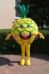 Großhandel Ostern-Ananas-Maskottchen-Kostüm-erwachsenes Größen-Maskottchen-Kostüm-Abendkleid-Partei-Werbung und Karnevals-Kostüm EPE-Material Freies Verschiffen