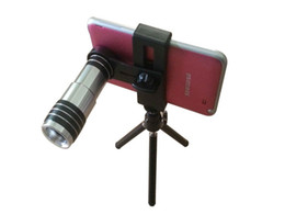 Universal lens holder online shopping - Universal Mobile Phone X Zoom Optical Telescope Camera Lens with Tripod Stand Holder for iPhone S Plus