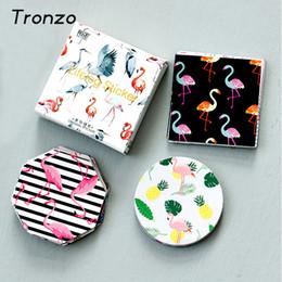 $enCountryForm.capitalKeyWord UK - Tronzo 45Pcs Flamingo Paper Sticker For DIY Gift Craft Label Birthday Party Decorations Cartoon Scrapbook Supplies Kids Favor