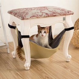 pet cat hammockon the chairtotoro hammockmattwo sided use in spring and summerpet supplies hammock chair spring nz   buy new hammock chair spring online from      rh   nz dhgate