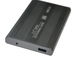 Wholesale High Quality S5Q quot Sata to USB Hard Disk Drive CADDY HDD External Hard Disk Case External Enclosure