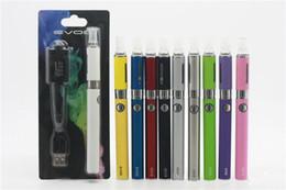 Chinese  MT3 EVOD Blister pack kit eGo starter kits e cigs cigarettes 650mah 900mah 1100mah battery MT3 atomizer CE4 manufacturers