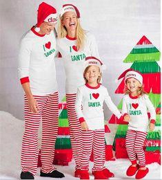 Father Daughter Pajamas NZ - Christmas Family Matching Clothing Sets Pajamas Clothing Mother Daughter Father Son Clothes Christmas Pajamas Family Clothing Sets LA540