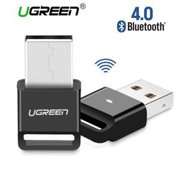 Usb Dongle Receiver NZ - Wireless USB Bluetooth V4.0 Adapter Bluetooth Dongle Music Sound Receiver Adapter Bluetooth Transmitter for Computer PC and laptop