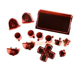 game repair 2019 - New Full Repair Buttons For Sony PS4 Controller Gamepad Video Game PlayStation 4 Thumbsticks Dpad Home Button Controller