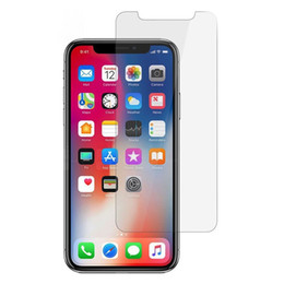 Iphone Glass Screen Guard Australia - For iPhone X 8 7 Plus 6S Tempered Glass Screen Protector Film Guard 9H Hardness Explosion Proof Protectors Samsung S8 S7 Edge Note 8 20pcs