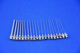 $enCountryForm.capitalKeyWord Canada - 12PCS lot 1-inch tubing length Metal S.S. Dispensing Needle Blunt Tip 8G~30G