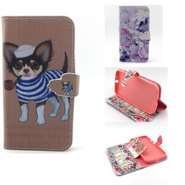 $enCountryForm.capitalKeyWord Canada - Dog Flip Stand Leather Wallet Phone Case Cover with Money Pouch Card Slot for Moto G2 Stand Phone Newest