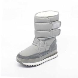 Bottes de neige pour femmes d'hiver de mode en plein air 8 couleurs chaudes chaussures d'hiver compensées en coton compensées d'hiver