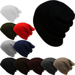 Free knitted hats For girls online shopping - Fashion Knitted Hat Winter Keep Warm Cap Windproof For For Men And Women Multi Color Outdoor Skiing Beanie Gift Hot Sale C lz