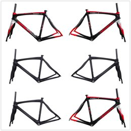 $enCountryForm.capitalKeyWord Canada - RB29 new mold multi full carbon fiber 700c road bike frame and fork glossy matte red white color painted