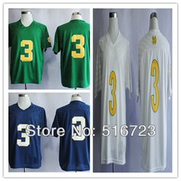 Factory Outlet- Free shipping Notre Dame Fighting Irish 2013 Shamrock  Series Joe Montana 3 College Football Jersey Men s Jerseys size 48-56 e6c80c166