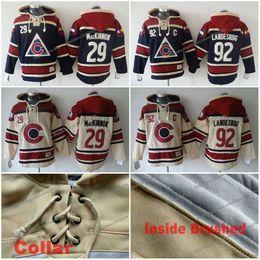 $enCountryForm.capitalKeyWord Canada - Colorado Avalanche Hockey hoodies #92 Gabriel Landeskog #27 Nathan Mackinnon Third Steel Stitched Jersey Hoodie C Patch