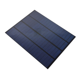 Wholesale solar panels 5W online shopping - 5Pcs W V DIY Encapsulated Solar Cell Panel Mini Polycrystalline Solar Cell Size mm for Solar System and Education