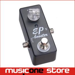 Mini guitar effects online shopping - Guitar Effect Pedal Boost True Bypass MINI EP BOOSTER GUITAR PEDALS BOOST BLACK MU0366