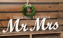 $enCountryForm.capitalKeyWord Australia - Mr and Mrs wedding sign, wooden letters, wedding decor, head table, chair backers, wall hangings, script vintage white,