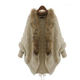$enCountryForm.capitalKeyWord Canada - 2015 Winter Open Cardigan Poncho Capes Pull Femme Autumn Women Fashion Knitted Wool Sweater Jacket Bat Sleeve Shrug HY925