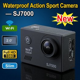 wifi mini cmos cameras Canada - 2015 Latest SJ7000 Wifi Waterproof Sport Action Video Camera Mini Camcorder Car DVR 14 Megapixels FHD 1080P 2.0 inch 170 Degree Angles