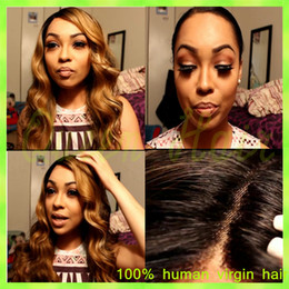 Cheap Loose Body Wave Hair Canada - Cheap cambodian virgin hair full lace wig front lace wig human hair body wave glueless full lace human hair wigs for black women