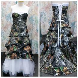 top sale tulle skirt camo wedding dresses a line draped chapel train bridal gowns custom online vestidos de novia spring 2015 cheap online cheap camo