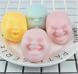 $enCountryForm.capitalKeyWord Australia - Color random New Funny gadgets anti stress toys Vent Human Face Ball caomaru geek surprise Adult toys anti stress ball
