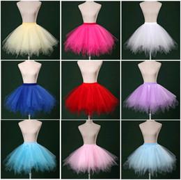 $enCountryForm.capitalKeyWord Canada - Fashion girls skirts women princess tutu stage wear mini dresses short petticoat bridesmaids bridal wedding dress accessories underskirt