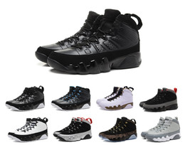$enCountryForm.capitalKeyWord UK - New 9 Anthracite black Copper Statue Baron Charcoal Johnny Kilroy blue Mens Basketball Shoes Cheap 9s IX Sneakers 7-13