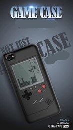 Game console shells online shopping - New Retro Game Consoles Phone Back Game case TPU for lPhone Cover Protective Shell Black White with retail package DHL