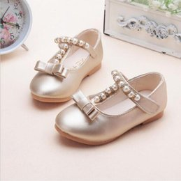 5f3a7356f Pearl Shoes Sandals Girls Canada - Children Shoes Girls Shoes 2016 Brand  Summer Autumn Beading Fashion