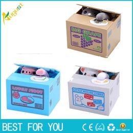 $enCountryForm.capitalKeyWord NZ - Cut Automatic Stole Coin Piggy Bank Panda Yellow   White Cat Money Box 11.5x9.5x9cm Money Saving Box Moneybox Gifts For Kids
