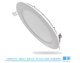 Discount 12w led panel spot - High popularity >90LM W 4W LED panel light slim wall recessed panle ceiling spot light covers