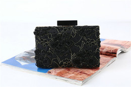 handmade cosmetic bags Australia - 3pc New arrival handmade Vintage beaded cheongsam evening bag Handbag Party club wedding Bridal Clutch Prom Purse wallet cosmetic bag tote